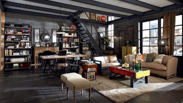 Arredamento industriale blog agenzia stella cadente for Catena negozi arredamento casa