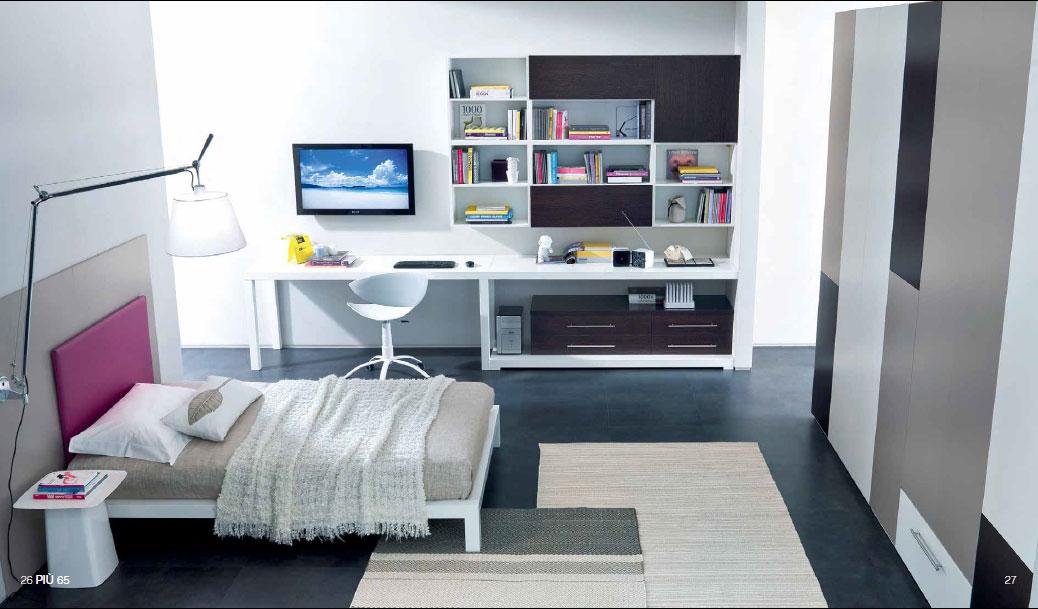 Piccola camera come arredare blog agenzia stella cadente for Idee per arredare camera da letto piccola