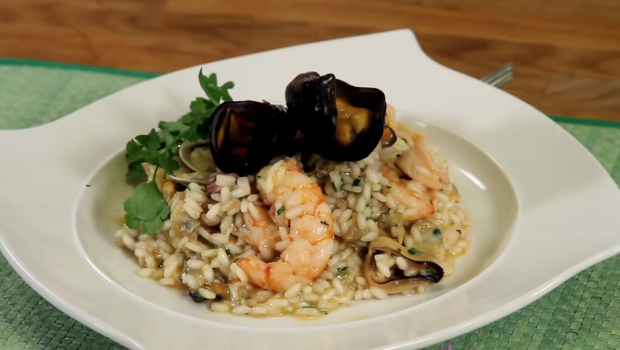Risotto ai Frutti di mare [VIDEO]
