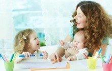 lavoro della baby sitter
